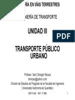 Transporte Publico Urbano
