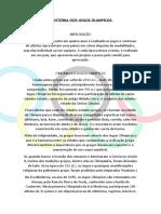 A História Dos Jogos Olimpícos