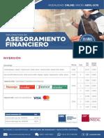 Dip. Asesoramiento Financiero Online