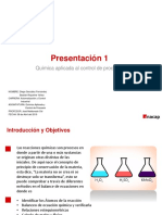 Presentación Balance de Exuacion Quimica