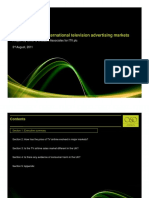 Global advertising markets