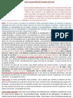 GALATAS 1.6-10 EXCLUSIVIDAD DEL EVANGELIO DE CRISTO - NO HAY OTRO EVANGELIO.docx
