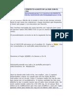 Manual de Perfecto Ajuste de La Egr Con El Vagcom en Los Tdi