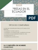 Empresas en El ECUADOR
