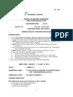 Manual of Anatomy Lab Gastro Week 2 140116