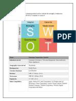 SWOT Analysis of Samsung Corporation Ltd