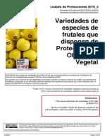 Listado Protecciones TOV 2019 2
