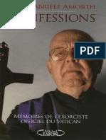 Gabriele Amorth - Confessions _ Mémoires de l'exorciste officiel du Vatican  -Michel Lafon (2010).pdf