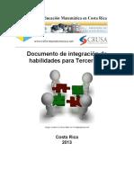 Integracion de Habilidades Matematica Tercero