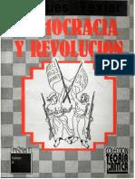 Jacques Texier Democracia y Revolucion