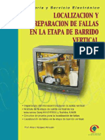 Teoria y Servicio Electronico - Localizacion y Reparacion de Fallas en La Etapa de Barrido Vertical