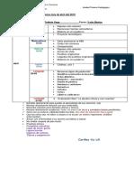 3° abril  Calendario de evaluaciones