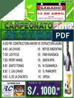 Campeonato AFICHE