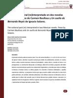 El pasado nacional (re)interpretado en dos novelas mexicanas