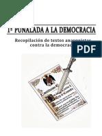 1º puñalada a la democracia