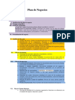 Estructura Plan de Negocio1