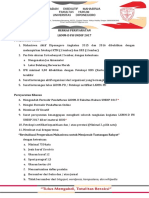 Dokumen Administratif Calon Peserta LKMMD FH UNDIP 2017