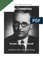 Obras Completas Vicente Amezaga Aresti- 11 Volumenes