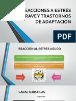 Reacciones a Estrés Grave y Trastornos de Adaptación