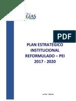 PLAN ESTRATEGICO INSTITUCIONAL REFORMULADO 2017-2020.pdf