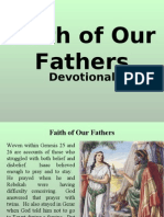 Faith of Our Fathers (Devotional)