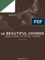 12 Beautiful Chords