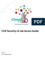 CCIE SECv5 Lab Access Guide Version1.7 (1)
