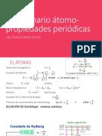 Problemario Átomo Propiedades Periódicas