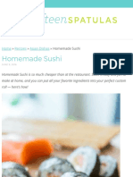 Homemade Sushi Recipe - Surprisingly Easy to Make Yourself