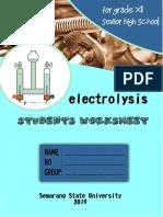 Worksheet for Group 1