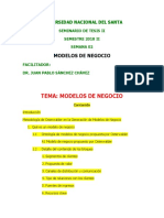2018 II Semana 02 Modelo de Negocio OSTERWALDER