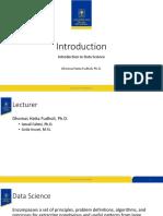 0. Introduction Data Sains