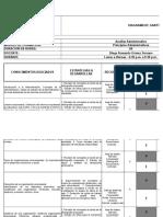 DIAGRAMA de GANTT - Guía No. 1 - Principios Administrativos
