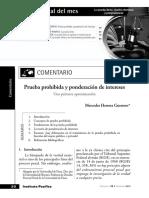 1. Mercerdes Herrera Guerrero. Prueba prohibida y ponderación de intereses. Especial del mes.pdf