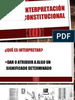 La Interpretación Constitucional Gruo 6