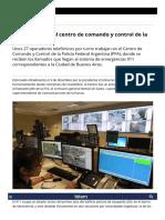 Cómo Funciona El Centro de Comando y Control de La Policía Federal - Télam - Agencia Nacional de Noticias