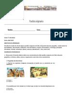 Guia 4 Año Basico Nomades Sedentarrios Pueblos Originarios de Chile