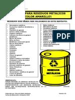 Cartillas de Clasificación de Residuos