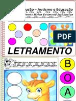 Atividades Escolares Volume 1 Letramento