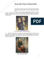 Aliran Dan Gaya Lukisan Seni