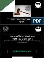 Presentación NOM 193