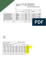 Planilla de remuneraciones en Excel + asiento contable TRABAJO