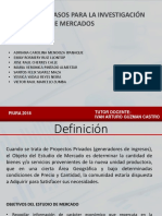 6 Pasos Investigacion Mercado