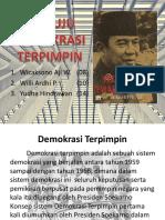 Menuju Demokrasi Terpimpin (Sejarah)