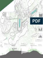 plano de la villa adriana