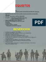 Beneficios y Requisitos