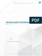 negociacao internacional