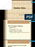 Passive Voice Presentación