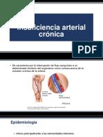 Insuficiencia Arterial Crónica