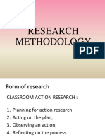 presentation of classroom action research
